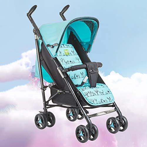 Buy Discount ZZHJ Standard Baby Strollers Baby Stroller Pram Stroller,Compact Convertible Luxury Str...