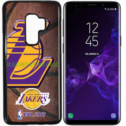 Galaxy S9 Plus New Lakers LA. Basketball Fashion Grip Anti-Slip Protective Shock Resistant Durable PC TPU by Mr Case