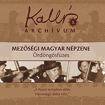 Kallós archívum, Vol. 3 (Mezőségi magyar népzene - Ördöngösfüzes)