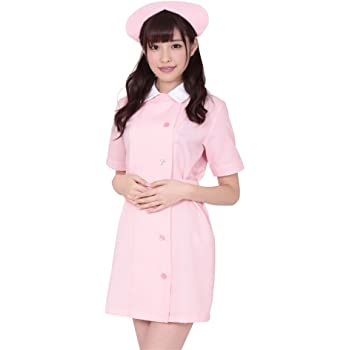 AKIBAパステルピュアナース ナース服 コスチューム ピンク レディース Mサイズ