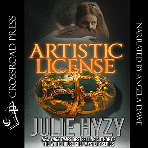 Artistic License audiobook cover art