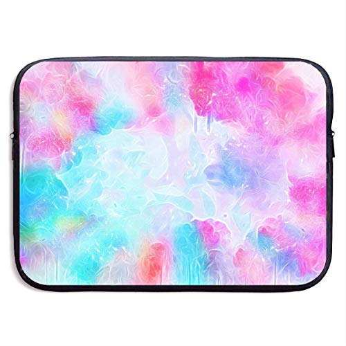 Laptoptasche Notebooktasche,Laptop Sleeve Case Protective Bag Printed Background Water Droplets Fluid Colorful Ultrabook Briefcase Sleeve Bags Cover Aktentasche for MacBook Pro/Acer/Asus/Lenovo Dell