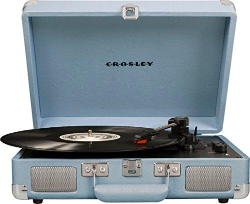Crosley Cruiser Deluxe - Tocadiscos portátil de Tres