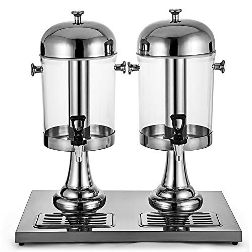 HADMB 8 litros / 2.1 GAL Dispensador Zumo,Bebida Buffet Máquina PC dispensador Bebida para Buffet, Restaurante, Hotel, Bar, hogar,16L
