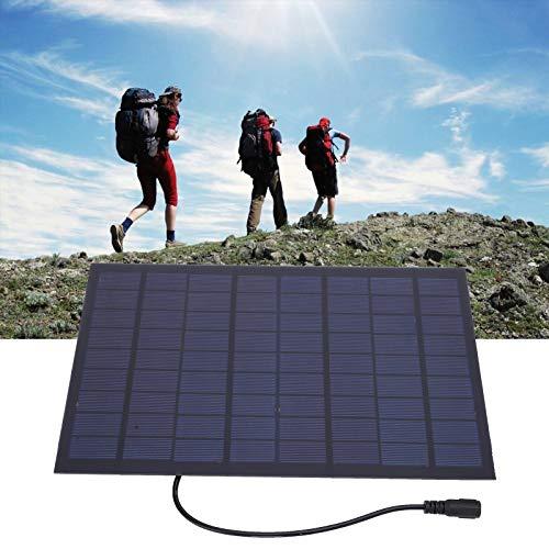 Cargador de batería de célula solar Mini panel solar pequeño A prueba de nieve Panel solar a prueba de viento Célula solar para luces solares del césped Experimentos de luces solares del