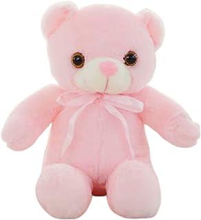 Gevulde dier kleurrijke lichtgevende - LED-licht pluche kussen kussen kinderen speelgoed knuffeldier pop verjaardagscadeau...