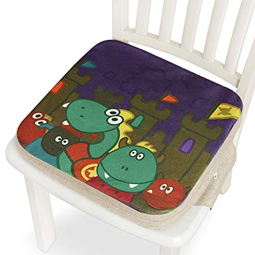 Buy Discount Baby Increased Pad, Children's Dining Chair Heightening Pad, Student Seat Cushion, Thic...