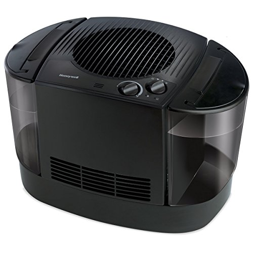 Honeywell HEV685B Top Fill Console Humidifier, 1 Count (Pack of 1), Black