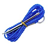 Eagle Claw 04310-001 Fish Stringer, Blue, One Size