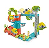 Clementoni- Fun Garage Baby Track Set di Gioco, Multicolore, 17404