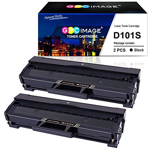 GPC Image MLT-D101S Toner compatibili per D101S(1500 pagine) Samsung ML-2160 ML-2165 ML-2168 SCX-3400 SCX-3405 SCX-3405FW SCX-3405F SCX-3405W ML-2161 ML-2162 ML-2164W ML-2165W ML-2168W SF-760P(2 Nero)