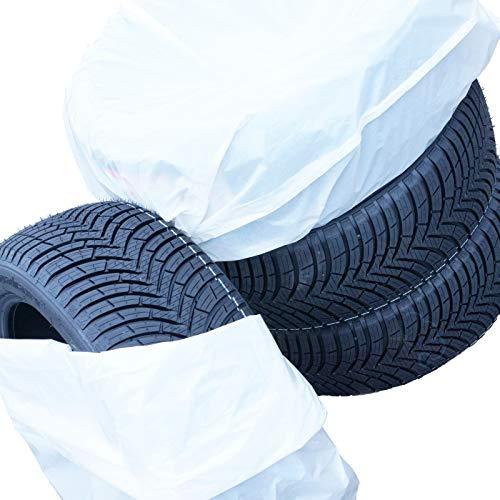Reifensäcke [8 Stück] Reifentüten Weiss XXL bis 21 Zoll 100cm x 100cm (8)
