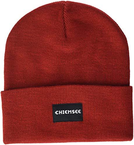Chiemsee Erwachsene kuschelige Mütze, Red Dahlia, ONE Size ONLY