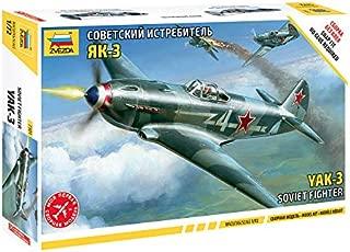 Zvezda Models 1/72 Yak-3 Soviet Fighter