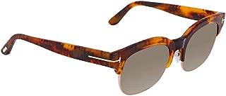 Sunglasses Tom Ford FT 0597 Harry- 02 55N coloured havana / green
