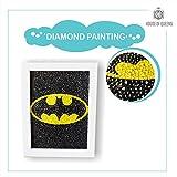 House of Queens DIY 5D Diamond Painting Batman Embroidery Shining Diamond Rhinestone 20