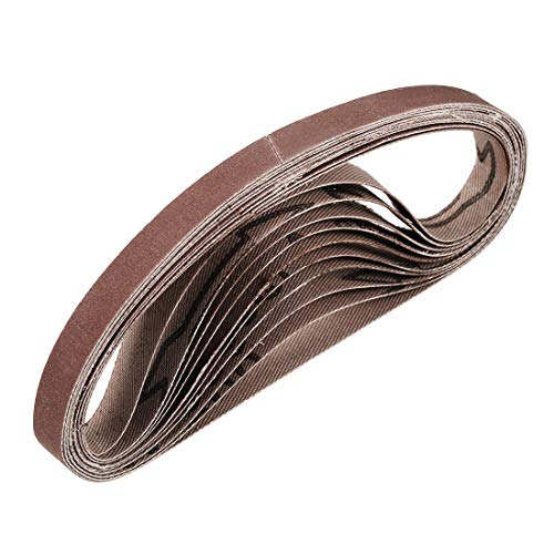 Sanding Belt Keilriemen aus Aluminiumoxid für Bandschleifer 10 Stück