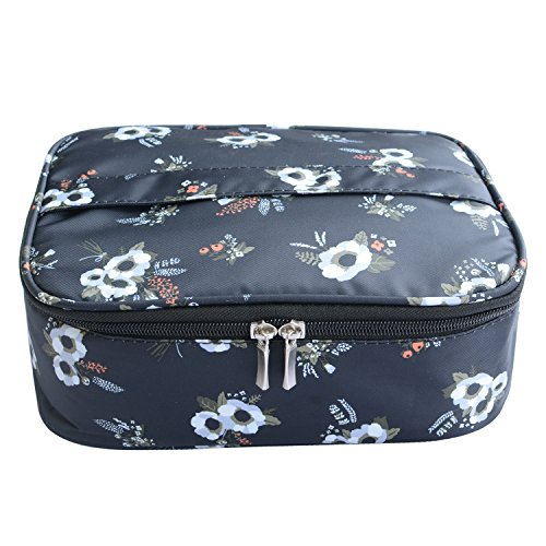 MKPCW Portable Travel Makeup Cosmetic Bag Organizer Multifunction Case for Women (Color2)
