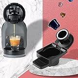 Adaptador de cápsula para conversión de cápsulas de café compatible con accesorios de máquinas de café reutilizables-Francia