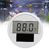 Changor Termómetro de Acuario, Hecho de medición de Temperatura de plástico Modo de Fuente de alimentación Acuario Termómetro de Acuario Peces