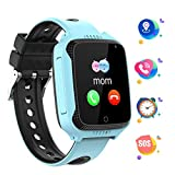 PTHTECHUS GPS Kids Smart Watch Phone, 1.44'' Touch Screen Childen Student Smartwatch