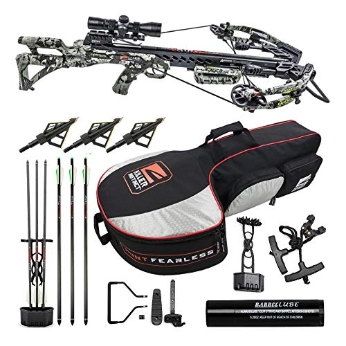 Killer Instinct Ripper 415 FPS Crossbow Kit with Slayer Case and HME Broadheads Bundle