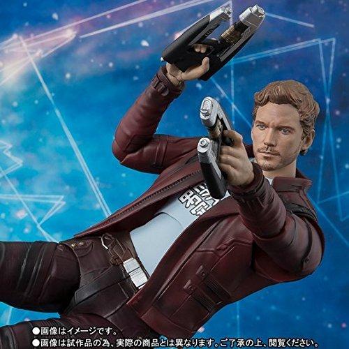 Guardiões Da Galaxia 2 Boneco Star Lord S.h. Figuarts Bandai