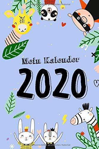 Mein Kalender 2020: Terminplaner | Wochenkalender | Monatskalender für 2020 im praktischen Taschenformat und tollen Motiv