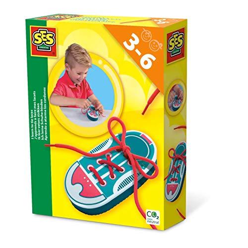 SES Creative 14629 Ich lerne Schuhe binden