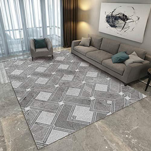 Moderne Scandinavische Stijl Tapijt 3D Bank Voorzijde Tapijt Mat Europese Woonkamer Slaapkamer Koffie Tafel Slaapbank Full Bedside XMJ