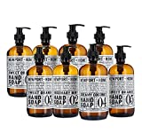 Newport Home Hand Soap Collection Infused With Coconut Essential Oils; Rosemary Mint, Creamy Coconut & Sweet Orange Gift Set (2 Count)
