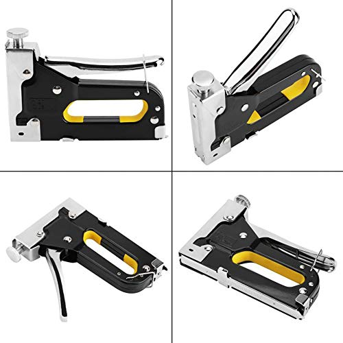 3 in 1 Heavy Duty Staple Gun with Staple Remover, Hand Operated Stainless Steel Stapler Brad Nail Gun, Furniture Stapler, Upholstery Staples, Upholstery Gun, 1050 Staples Attached Photo #8