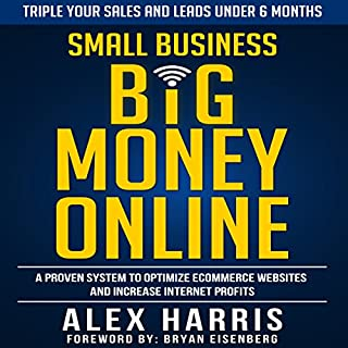 Small Business Big Money Online audiobook cover art