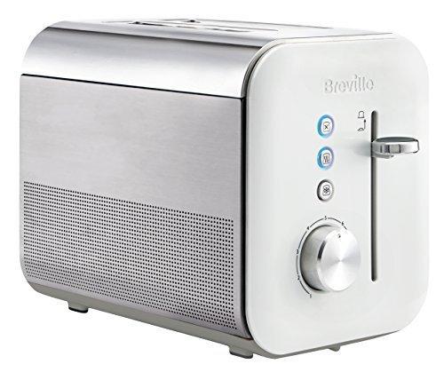Breville VTT676X 2 Scheiben Toaster, Steel, Weiß