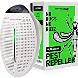 BRISON Ultrasonic Pest Repeller Plug in - Human Electronic Pet Safe Device - Eco-Friendly Electromagnetic Waves Ultrasound Control - Repellent for Mice Rats Mosquitos Spiders Rodents Insects 1 Pack