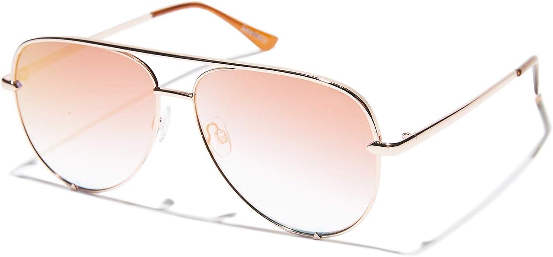 Quay Australia x Desi Perkins Women's High Key pink Copper Fade One Size