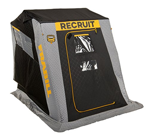 Frabill Recruit 1250 Insulated Flip-Over Front Door W/Boat Seat
