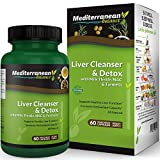 Liver Cleanse and Detox with Milk Thistle, NAC & Turmeric - Supports Immunity& Healthy Liver Function & Increases Antioxidant Capacity- 60 Vegetarian Capsules (30 Day Supply)