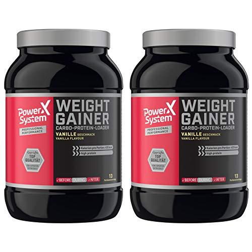 Power System Weight Gainer - 1.000g Vanille … (2 x Vanille)