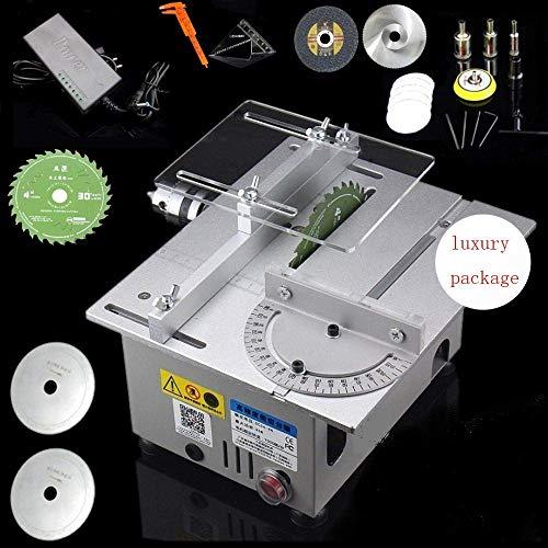 Sierra de mesa circular/carpintería modelo DIY máquina de corte amoladora pulidora eléctrica/modelo DIY sierra de corte