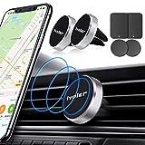 ivoler Support Telephone Voiture[Lot de 2], Porte Téléphone Magnetique Portable Grille Aeration...