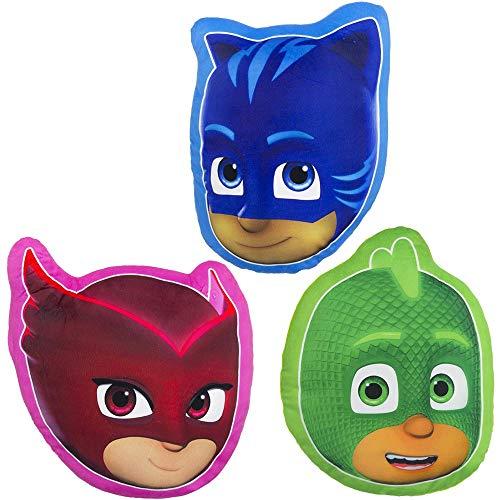PJ Masks Form-Kissen Kopfkissen Kissen Kinderzimmer Kuschelkissen (Catboy)