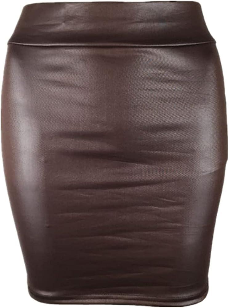NP Women' Stretch Short Skirt Bag Hip Skirts