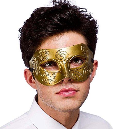Rome Eyemask - Antique Gold