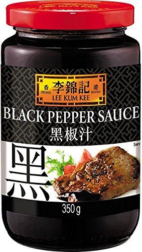 Lee Kum Kee Salsa Pepe Nero - 368 gr