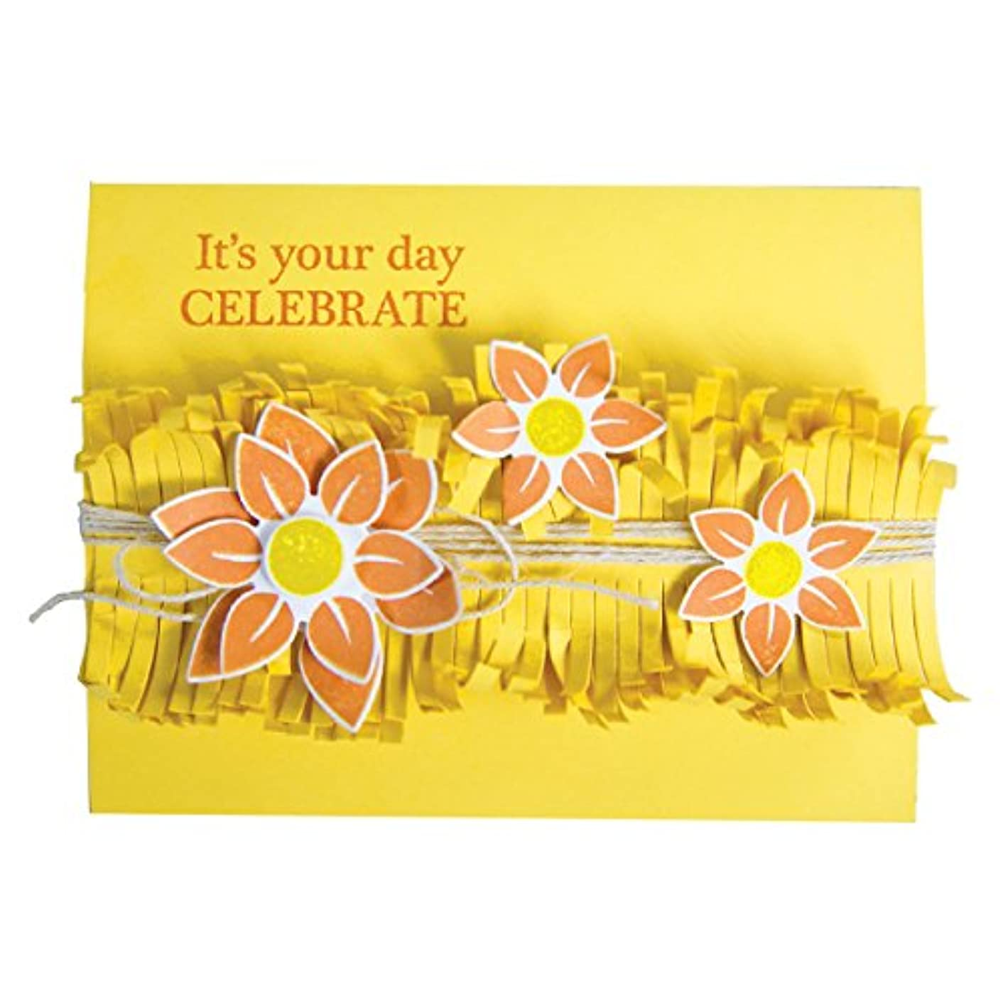 Spellbinders Shapeabilities Celebrations Fringed Garland Etched/Wafer Thin Dies