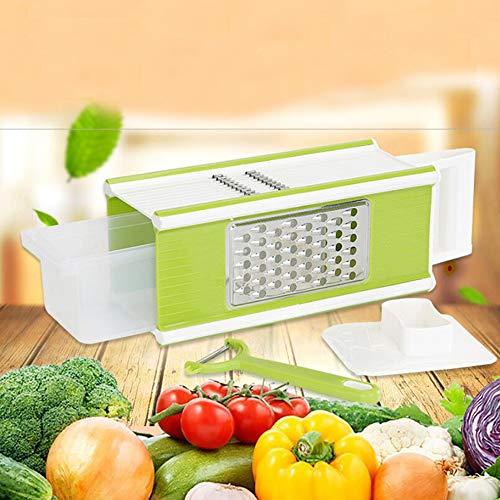 HAI+Multi-function Vegetable Chopper Mandoline Slicer Dicer,Onion Chopper,Fruits and Vegetables,Grater & Julienne Slicer, Cutter for Tomato, Onion, Potato, Cucumber