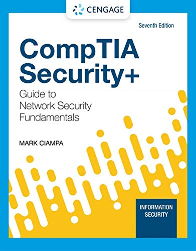 CompTIA Security+ Guide to Network Security Fundamentals (MindTap Course List)