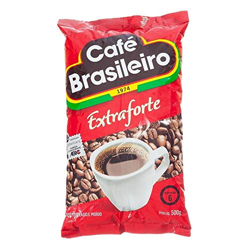 Cafe Brasileiro Extra Forte 499,8 ml, starker brasilianischer Kaffee