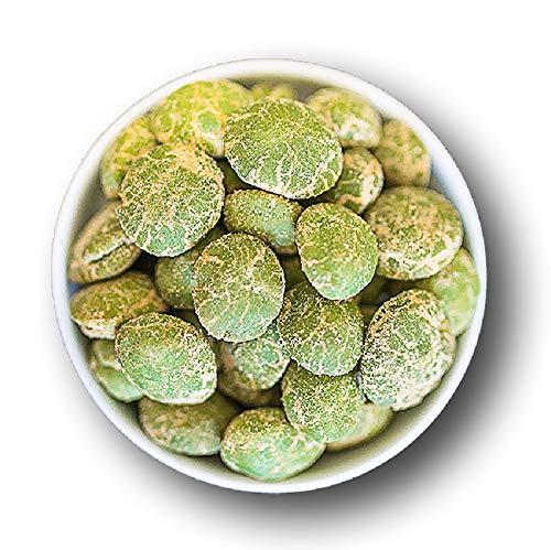 1001 Frucht Wasabi Erdnüsse 1kg pikante Snacks asiatisch I geröstete Kerne I Wasabi Nüsse im Teigmantel I scharfe Knabbereien I Feinschmecker Salat Topping I würzige Nüsse in Premium Qualität